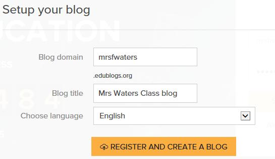 Add blog details