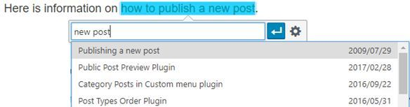 Add search term