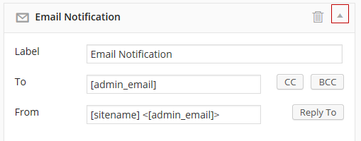 Email options