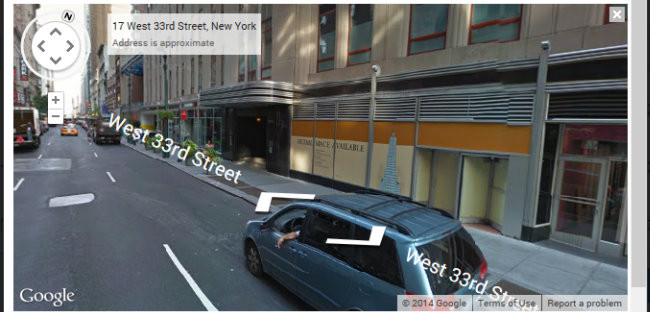 Street view example