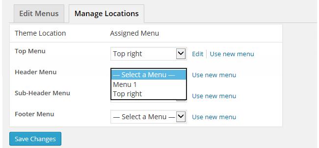 Creating a custom menu – Edublogs Help and Support