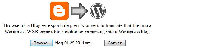 Click on Convert