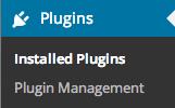 Plugins - Installed Plugins