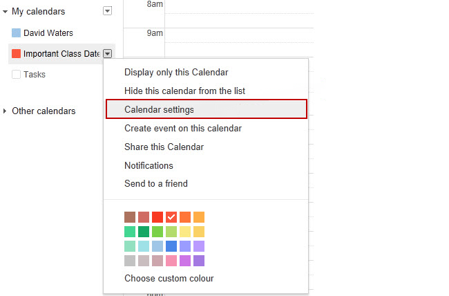 Adding a Calendar to your sidebar – Edublogs Help and Support
