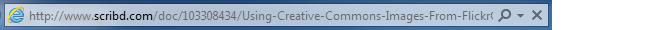 Scribd URL