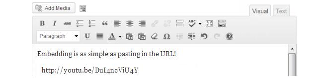 Paste the URL