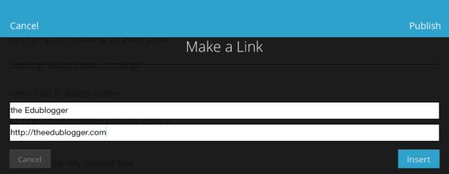 Add link