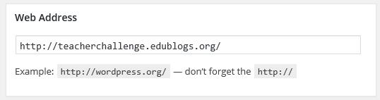 Add the URL