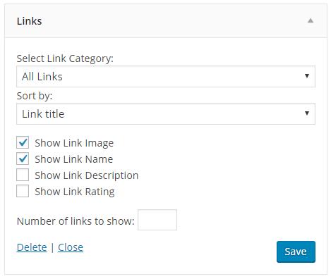 Link widget