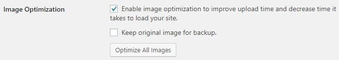 Image optimzation