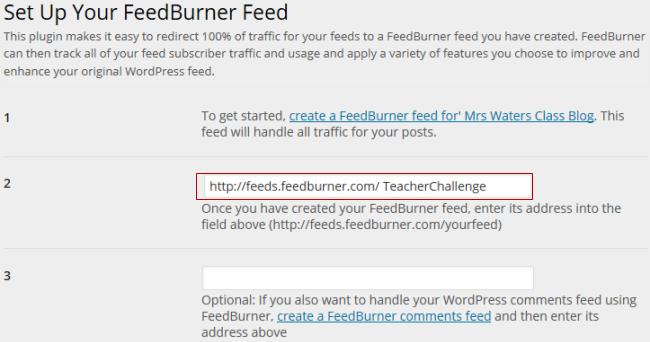 Add feed URL