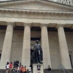 Federal Hall with Statue of George Washington,