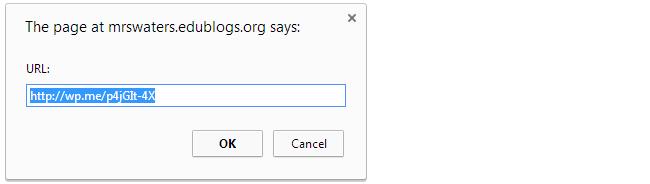 Shortlink URL