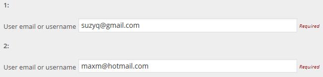 Add their email address