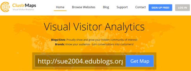 ClustrMaps Widget – Edublogs Help and Support