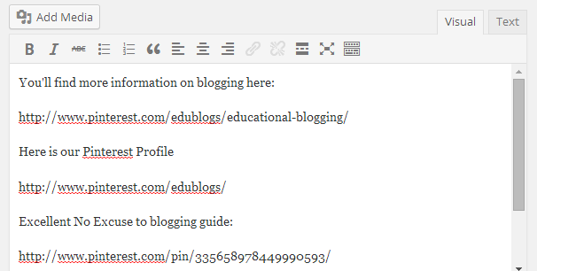 Blogging Tip: Embed Content With Just A URL – The Edublogger