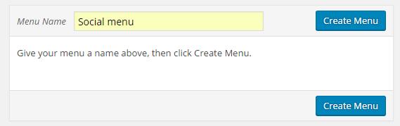 Add menu name