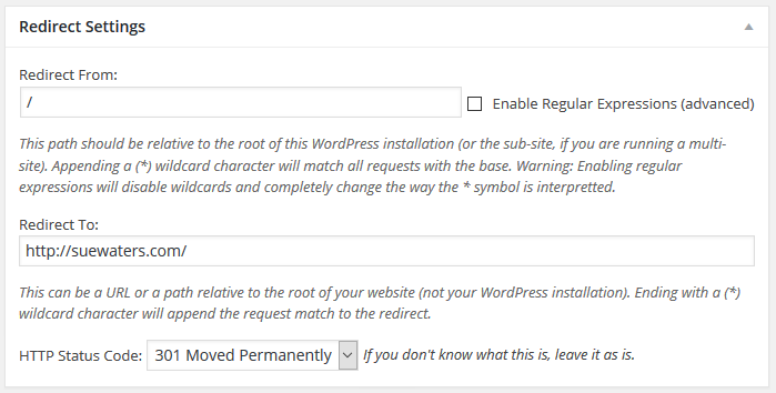 Add Redirect URLs
