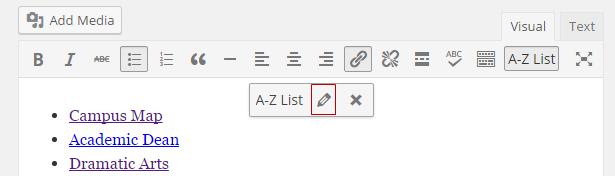 Edit List