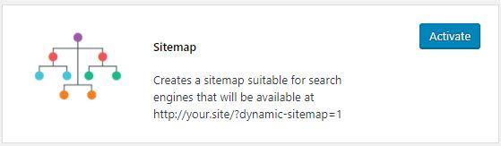 Sitemap plugin