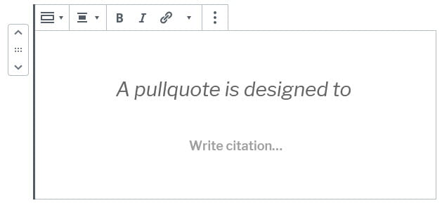 Type your text into the pullquote