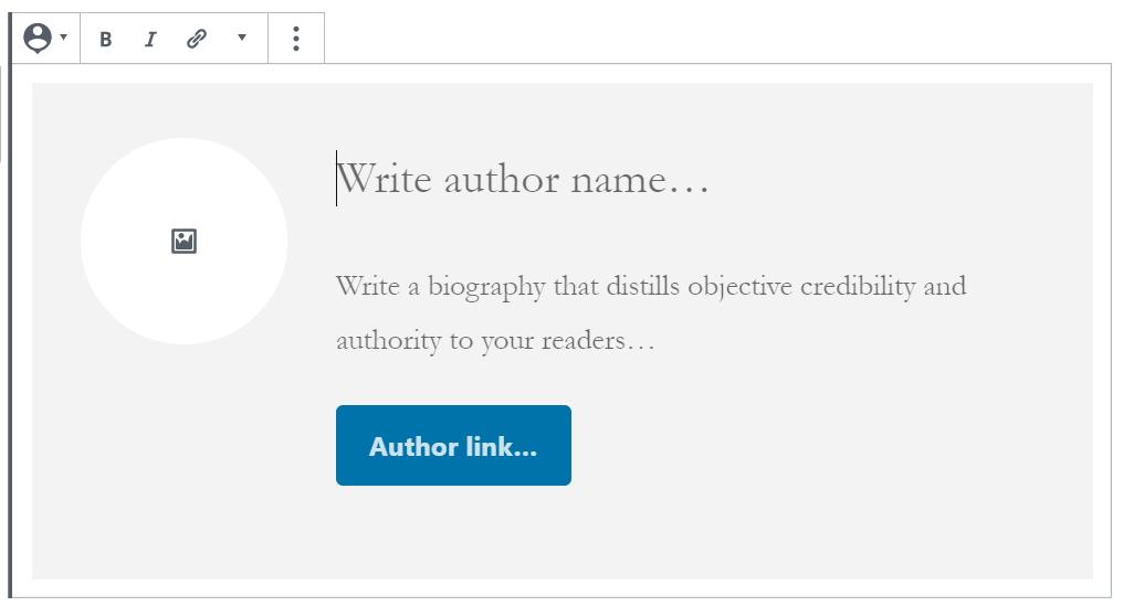 Author block