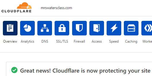 Confirmation SSL added