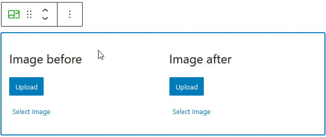 Image Compare block
