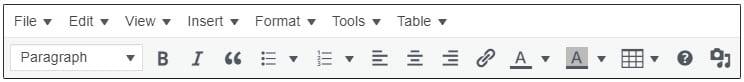 Advanced Editor Tools on classic block
